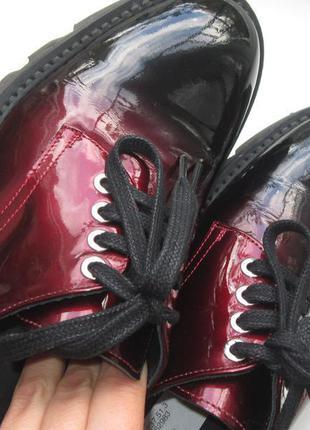 Стильные туфли-дерби морсала от pertini(оригинал,испания)