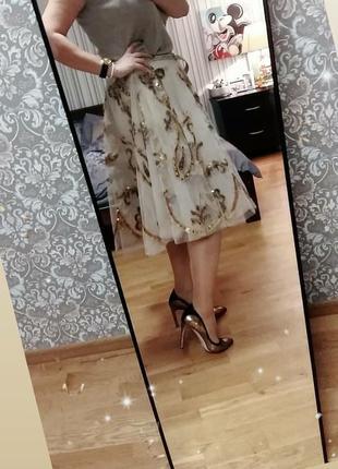 Пышная юбка из фатина для вечеринки one size