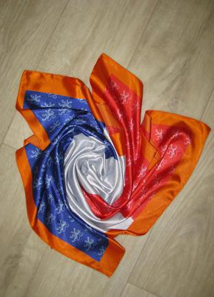 Платок шарф женский цветной