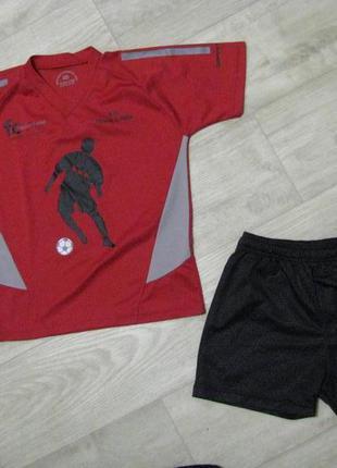 Форма футбольная рост 152 см спортивная 11-12 лет футболка шорты