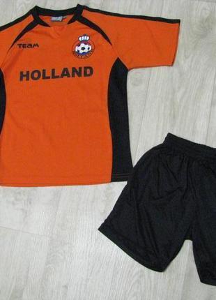 Форма футбольная рост 152 см спортивная 12-13 лет футболка шорты