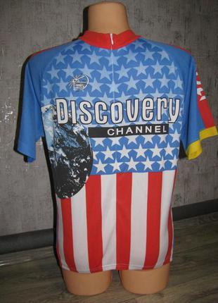 Веломайка размер m спортивная велофутболка мужская футболка вело