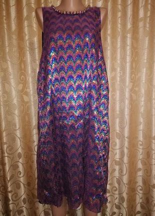 🌹🌹🌹красивое, блестящее женское вечернее, коктейльное платье 20...