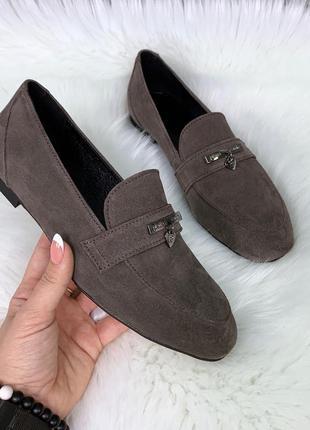 ❤ женские   замшевые туфли лоферы ❤