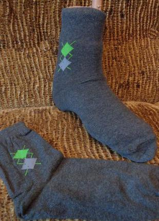 Мужские демисезонные носки.  6 расцветок