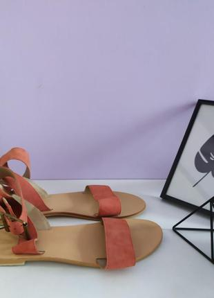 👡 босоніжки, босоножки, сандали з натуральної замші від asos