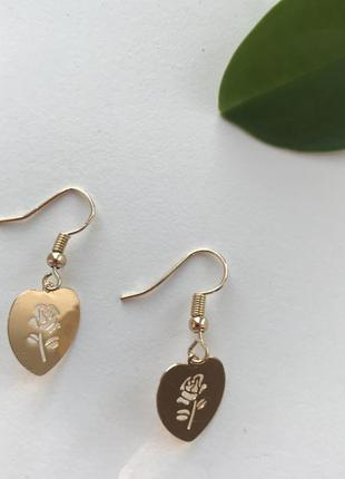 💎стильні сережки сердечка , серьги сердца 🌿з сайту asos