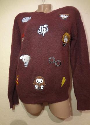 Яркий свитер primark размер s m