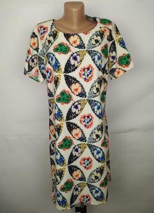 Платье новое красивое в принт uk 14/42/l