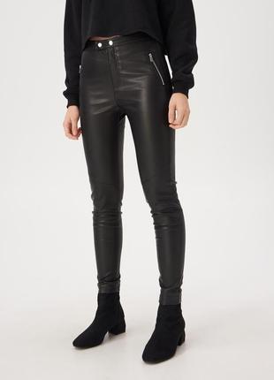 Новые брюки из кож.зама