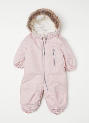 Зимний детский комбинезон от известного бренда h&m