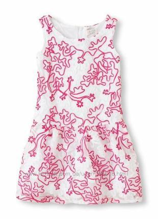 Красивое фирменное нарядное платье девчонке