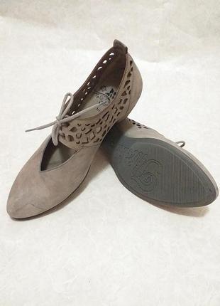 Tink! кожаные  туфли италия размер 38