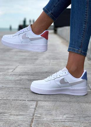Женские кроссовки nike air force low white
