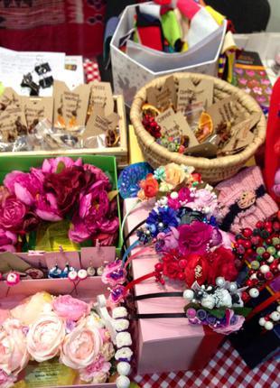 Изготовление венков и украшений для прически на заказ