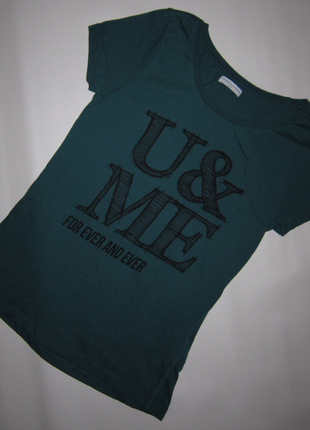 Крутая футболка u & me