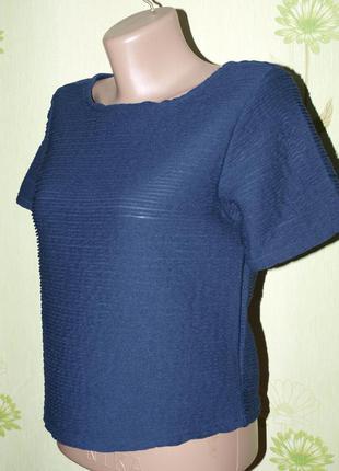 Блуза топ короткая футболка xs-s