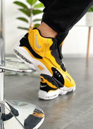 Мужские Nike Air Max Speed Turf University Gold | Black | White