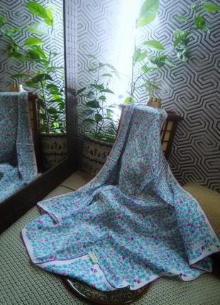 Loredano винтажный шёлковый платок