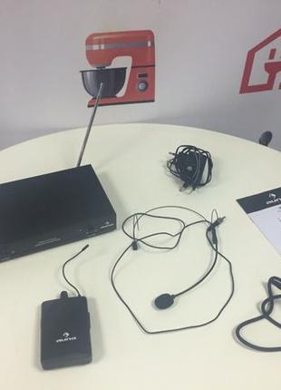 Радио микрофон 1-канальный VHF-радио Auna с гарнитурой 50 метров