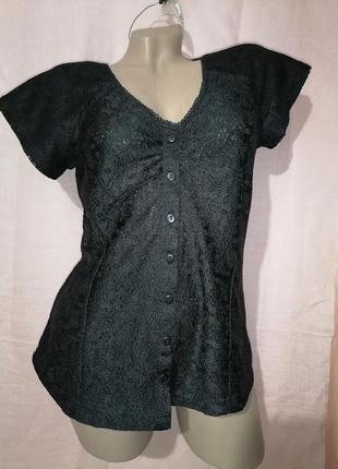 Кружевная блуза casual collection