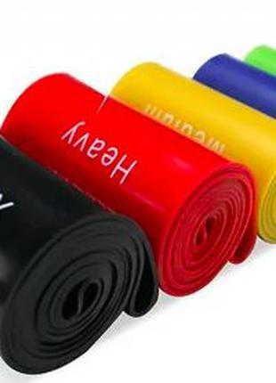 Резинка 5 в 1 Лента для фитнеса спорта Эспандер резиновый резинки