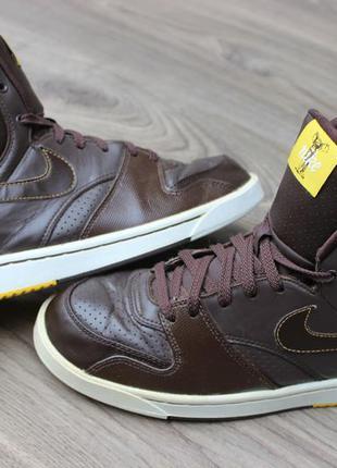 Кроссовки ботинки nike brown оригинал 41 размер