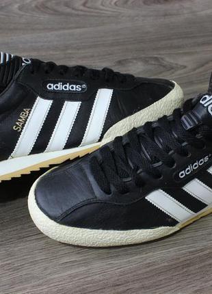 Кроссовки adidas samba vtg made in lithuania натур. кожа оригинал