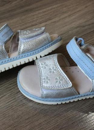 Босоножки сандалии clarks натур. кожа оригинал 22 размер