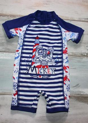 Купальный костюм для мальчика 12-18 мес. disney