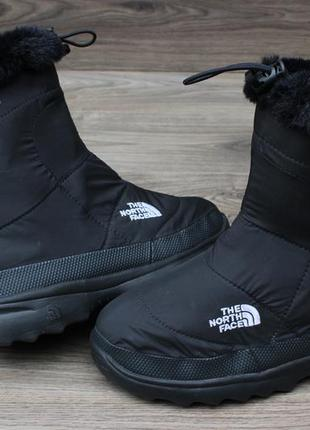 Сапоги дутики the north face 600g black оригинал 38 размер