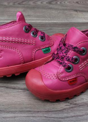 Ботинки kickers натур. кожа 22 размер