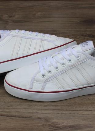 Кроссовки adidas nizza white оригинал 46 размер