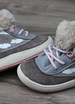 Ботинки clarks кожа 20-21 размер оригинал
