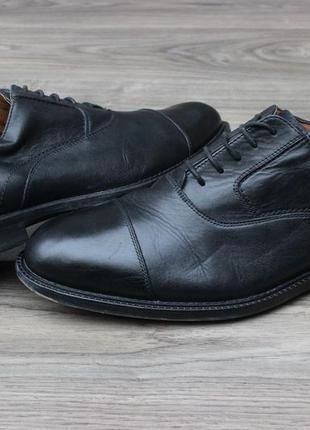 Оксфорды туфли clarks натур. кожа 44-45 размер оригинал
