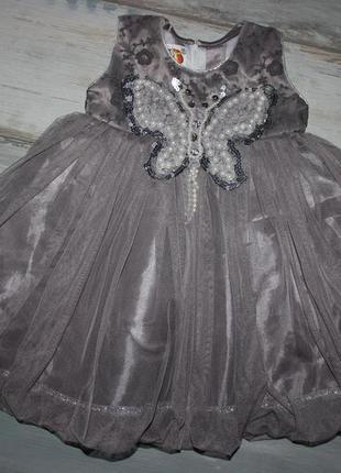 Пышное платья  mister baby на 12 мес.