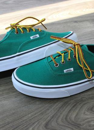 Кеды vans green оригинал 44-45 размер