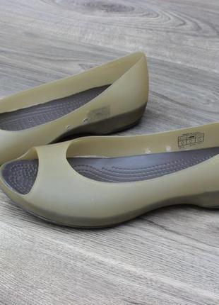 Балетки босоножки crocs 38-39 размер
