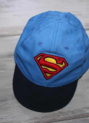 Кепка 3-6 мес superman