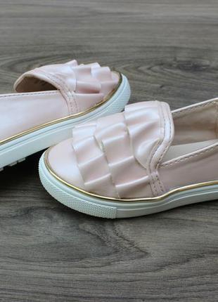 Туфли слипоны river island 23-24 размер