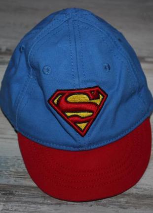 Кепка 6-12 мес f&f супермен