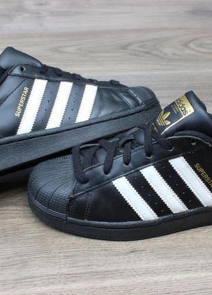 Кроссовки adidas superstar black 38-39 размер оригинал