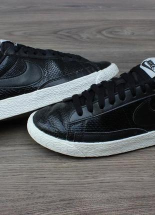 Кроссовки nike blazer low leather premium 685239-002 оригинал ...