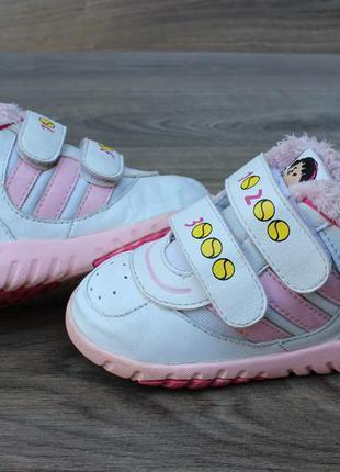 Утепленные кроссовки adidas оригинал 22 размер
