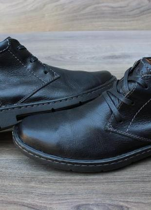 Ботинки дезерты clarks натур. кожа 41-42 размер оригинал