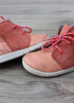 Ботинки clarks натур. кожа 22-23 размер