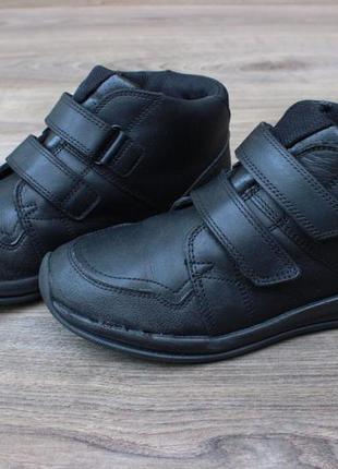 Ботинки clarks gore-tex натур. кожа 33-34 размер оригинал