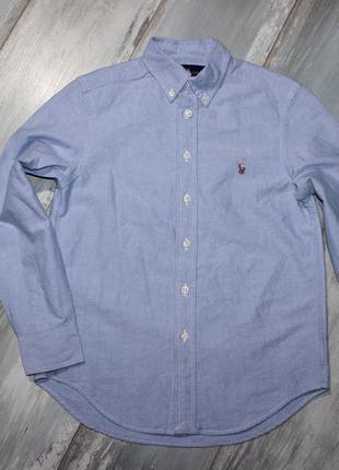 Рубашка на 10 лет ralph lauren оригинал