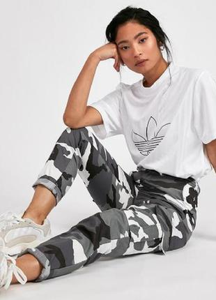 🔥 total sale 🔥актуальные брюки карго джоггеры в стиле милитари...
