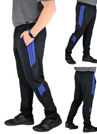 Трикотажные повседневные мужские спортивные штаны-брюки,батал